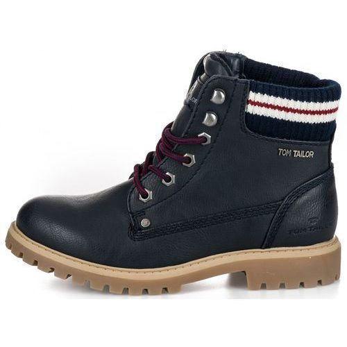 Tom Tailor buty za kostkę damskie 37 ciemny niebieski (4058219510465)