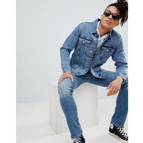 Weekday single denim jacket wd blue - Blue