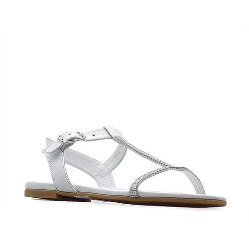 Sandały 039630218y wh białe, Venezia