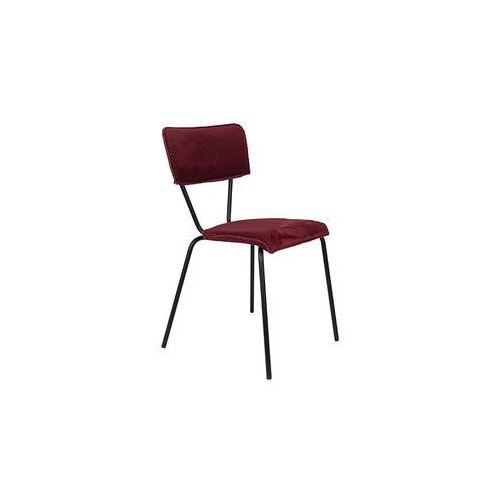 Dutchbone Krzesło Melonie bordeaux 1100349