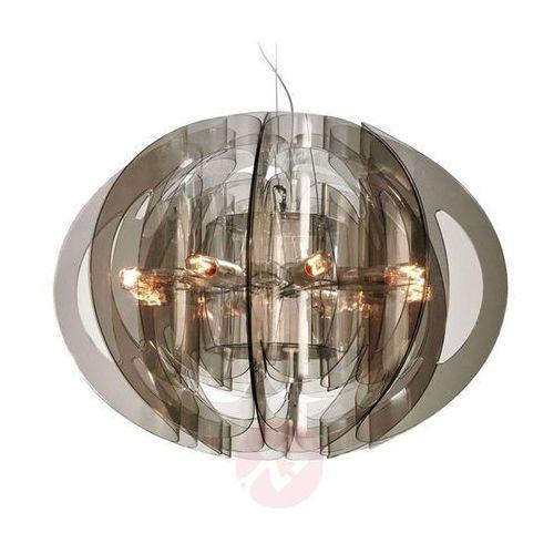 Slamp ATLANTE lampa wisząca W kolorze dymu, 8-punktowe - Nowoczesny - Obszar wewnętrzny - ATLANTE - Czas dostawy: od 8-12 dni roboczych (8024727039763)
