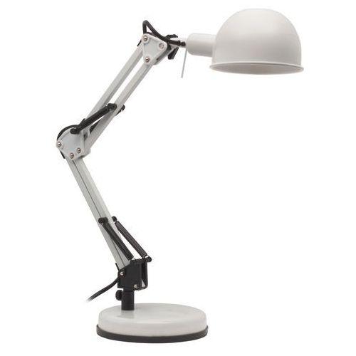 Lampka Kanlux Pixa KT-40-W 19300 biurkowa 1x40W E14 biała (5905339193001)