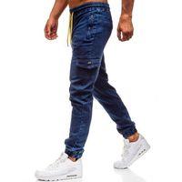 Red fireball Spodnie jeansowe joggery męskie granatowe denley y272a