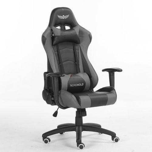Nordhold Obrotowy fotel gamingowy - ymir - szary