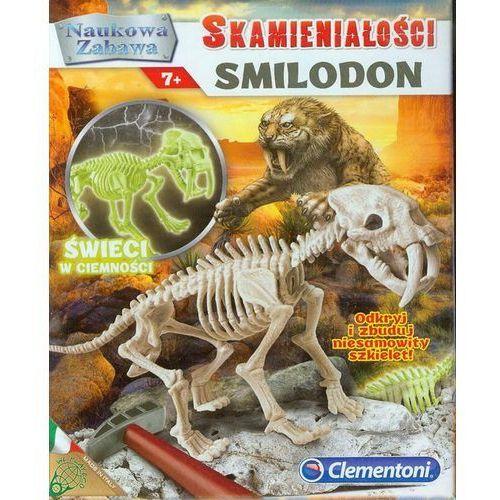 Clementoni Naukowa zabawa. skamieniałości. smilodon fluoresc