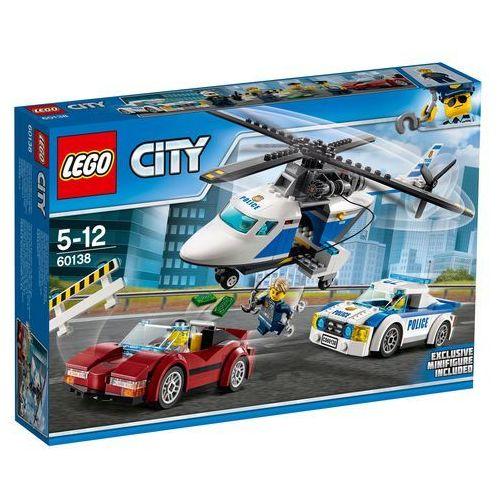 LEGO City: High-Speed Chase (60138) - BEZPŁATNY ODBIÓR: WROCŁAW!