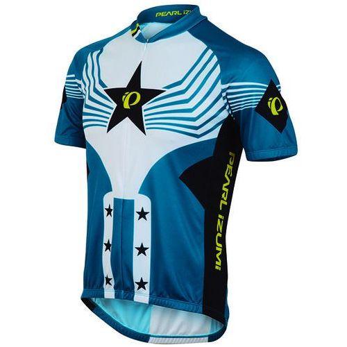 Pearl izumi select ltd - męska koszulka rowerowa (niebieski-biały)