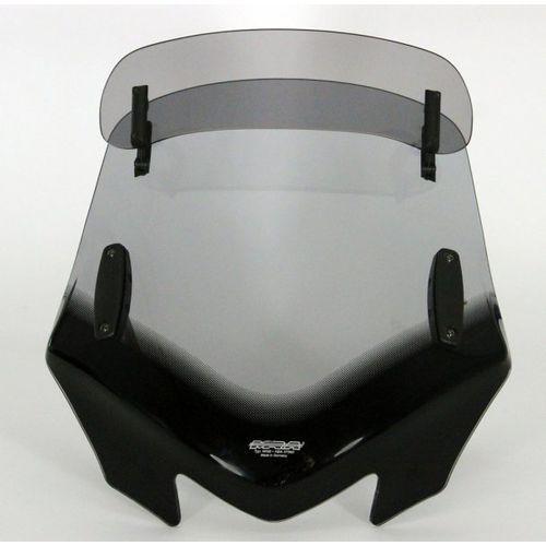 Uniwersalna szyba mra do motocykli bez owiewek, forma - vfvtz1 (przyciemniana) marki Mra_2017