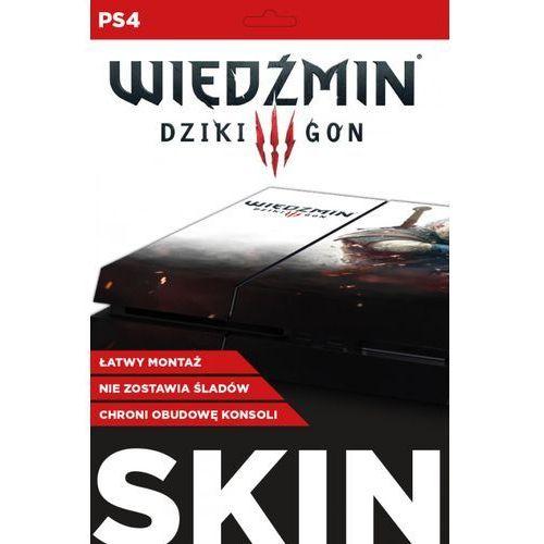 Naklejka PS4 Skin Geralt Biały Wilk, kup u jednego z partnerów