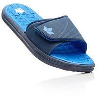 Klapki kąpielowe Lico bonprix ciemnoniebiesko-błękit królewski, kolor niebieski