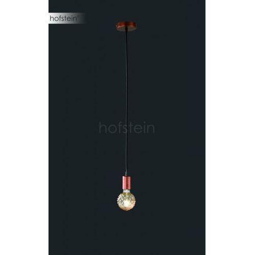 Trio-Leuchten Cord Lampa Wisząca Miedź, 1-punktowy - Vintage - Obszar wewnętrzny - CORD - Czas dostawy: od 3-6 dni roboczych (4017807356021)