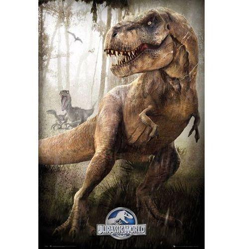 Gb Jurassic world jurajski park t-rex - plakat
