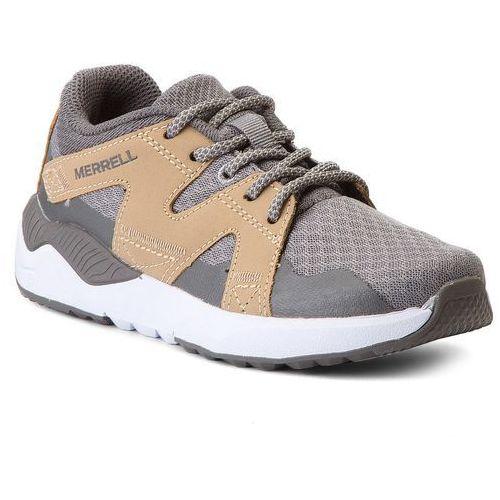 Merrell Sneakersy - 1six8 lace mc58583 grey/tan