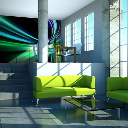 Fototapeta flizelinowa wodoodporna hd - abstract design - speed 550 szer. 270 wys. marki Artgeist