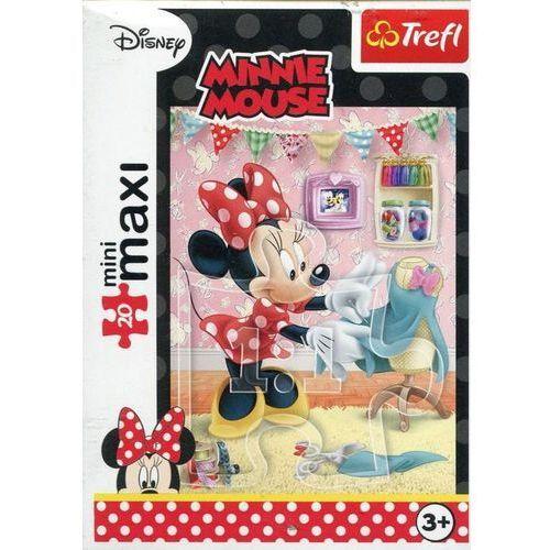Trefl Puzzle 20 minimaxi - ulubione zajęcia minni3 (5900511210224)
