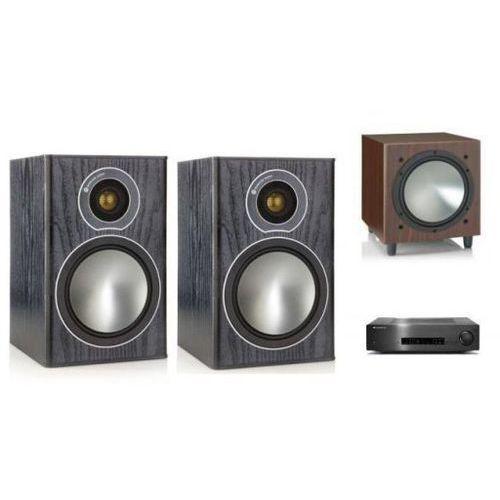 Cambridge audio cxa80 + monitor audio bronze 1 + w10 marki Zestawy