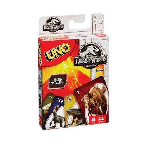 Gra uno jurrasic world - darmowa dostawa od 199 zł!!! marki Mattel