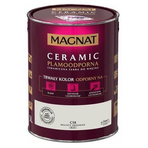 Farba Ceramiczna Magnat Ceramic C58 Mglisty Krzemień 5l, q1196050000108400