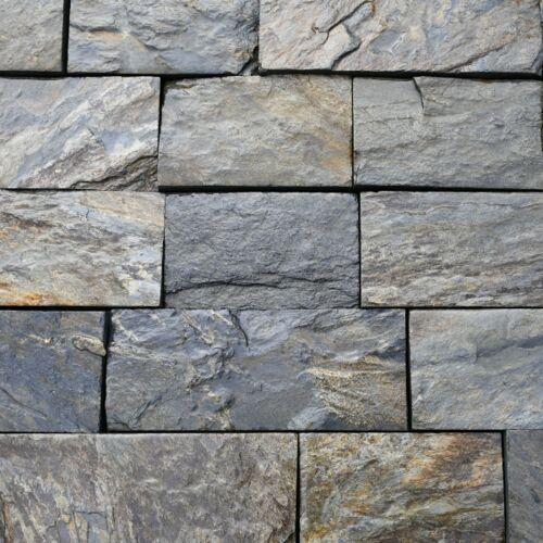 Stones garden Łupek szarogłazowy kamień elewacyjny cięty czterostronnie 12cm (5902837466934)