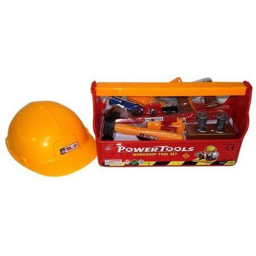Brimarex Skrzynka z narzędziami i kaskiem -