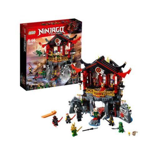 OKAZJA - 70643 ŚWIĄTYNIA WSKRZESZENIA (Temple of Resurrection) KLOCKI LEGO NINJAGO