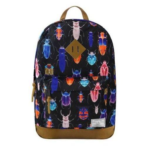 Plecak chrząszcze czarny marki Incood.