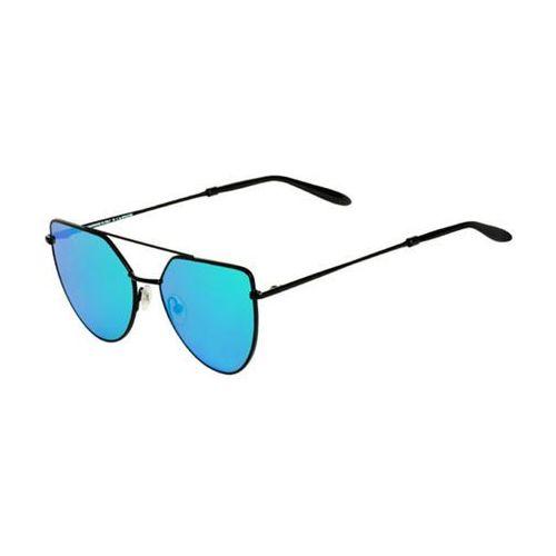 Okulary słoneczne off shore doppio osd03aft/matte black (blue mirror) marki Spektre