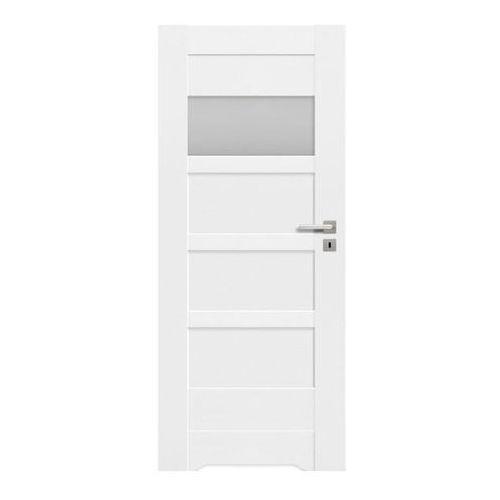 Drzwi z podcięciem Ombra 60 lewe kredowo-białe