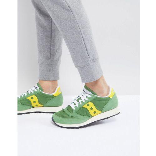 Saucony Jazz Original Trainers In Green S70368-17 - Green, kolor zielony