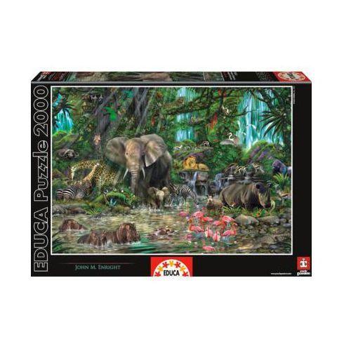 EDUCA 2000 EL. Afrykańska Dżungla - produkt z kategorii- Gry planszowe