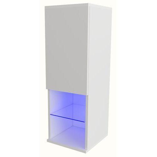 Witryna Carla LED biały mat, AD-0079