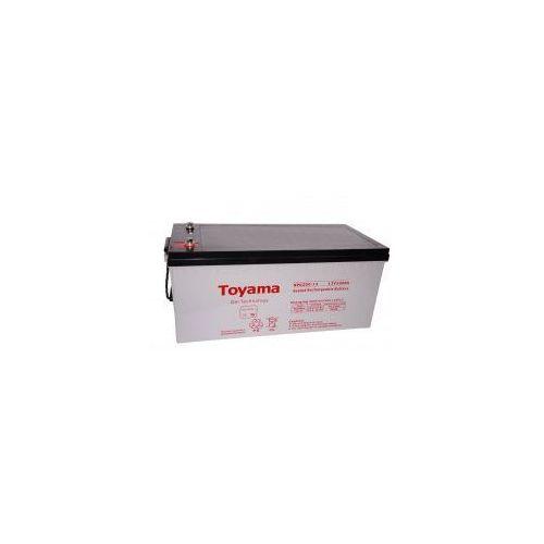 Akumulator żelowy  npg200-12 12v 200ah m8 marki Toyama