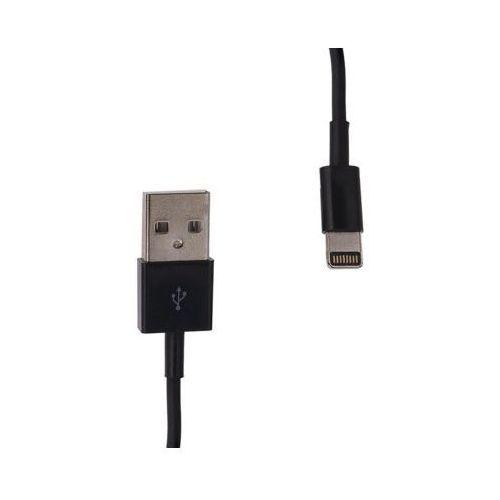 Kabel WHITENERGY Lightning - USB 2.0 0.3m Czarny z kategorii Akcesoria do TV