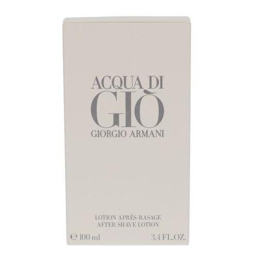 Armani  acqua di gio pour homme 100 ml woda po goleniu