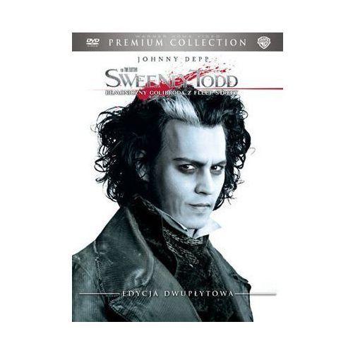 Galapagos films Sweeney todd: demoniczny golibroda z fleet street (2xdvd), premium collection (dvd) - tim burton (7321908211750)