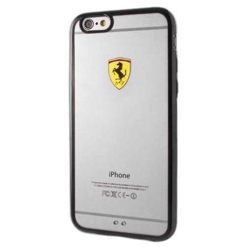 Ferrari  hardcase fehcp6lbk iphone 6/6s plus racing sield transparent black darmowa dostawa do 400 salonów !! (3700740375662)