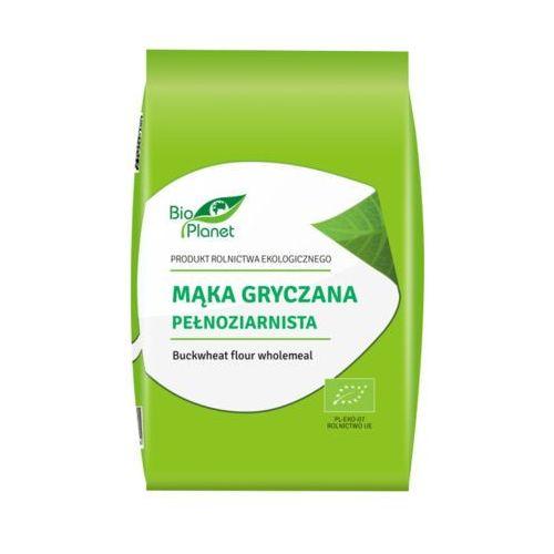 BIO PLANET 1kg Mąka gryczana pełnoziarnista Bio