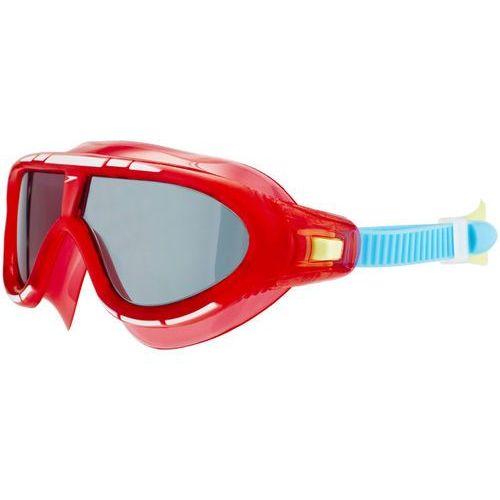 speedo Biofuse Rift Okulary pływackie Dzieci czerwony/niebieski 2018 Okulary do pływania (5053744337081)