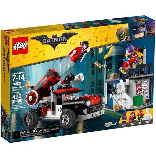 Lego THE MOVIE Zestawy batman harley quinn a útok dělovou koulí 70921