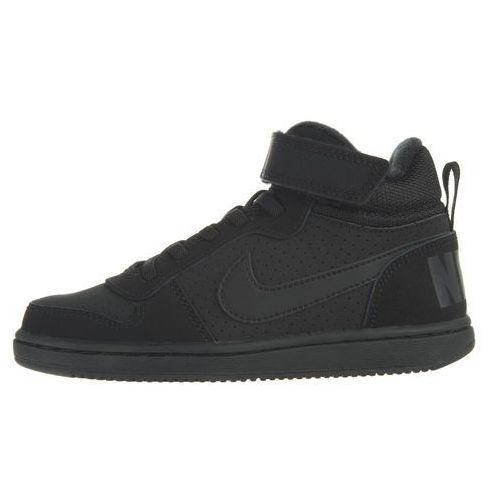 Nike Court Borough Mid Kids Sneakers Czarny 30, kolor czarny