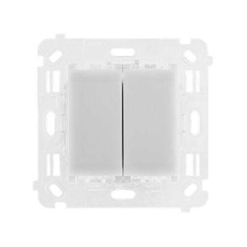 Kontakt-simon Przycisk podwójny dodatkowy 54 touch st2s sterownik dotykowy do st2m do układu schodowego lub krzyżowego mechanizm (5902787860257)