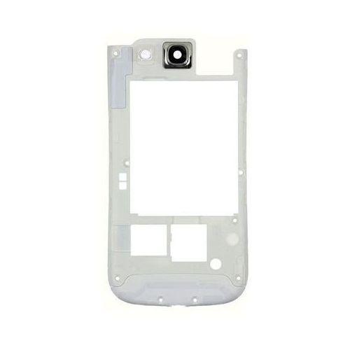 Środkowa ramka galaxy s3 biała marki Samsung