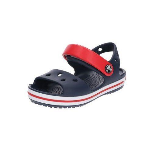 Crocs Crocband Sandały Dzieci czerwony/niebieski 23-24 2018 Sandały codzienne (0883503809918)