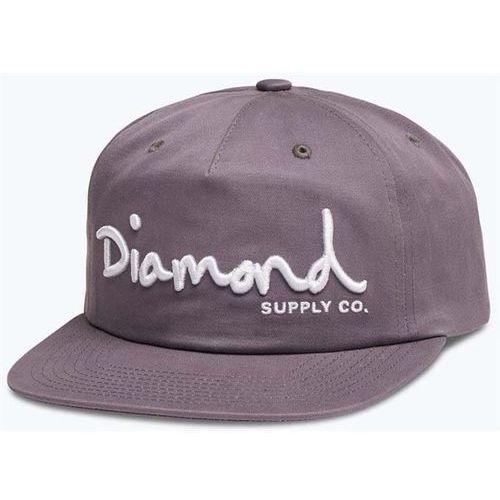 czapka z daszkiem DIAMOND - Og Script Deconstructed Sb Purple (PUR) rozmiar: OS