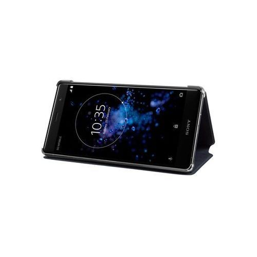 SONY Etui Style cover stand for XZ2 Premium black (7311271604488)