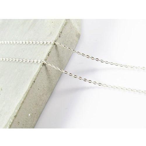 Srebrny (925) łańcuszek ankierka 45 cm + PREZENT