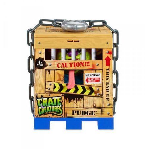 Mga Crate creatures interaktywny stworek pudge w klatce