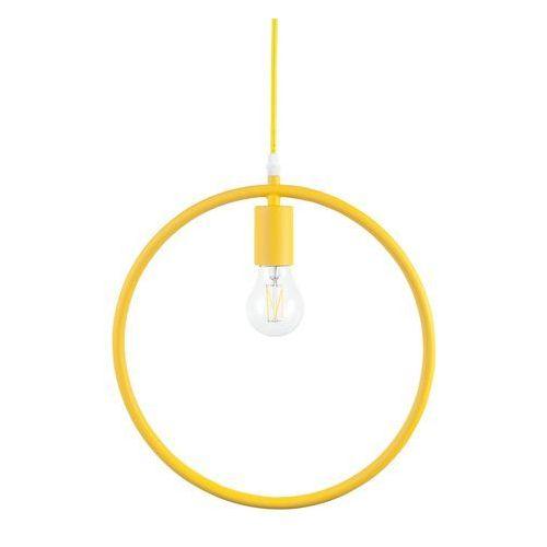 Beliani Lampa wisząca żółta lomami