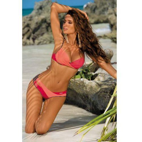 Marko Kostium kąpielowy model christina cubano-flamingo-nectarine m-348 brown/orange