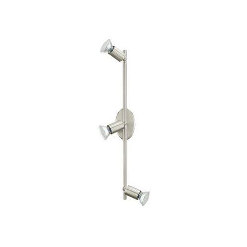 BUZZ-LED - LAMPA ŚCIENNO-SUFITOWA EGLO - 92597, kolor nikiel